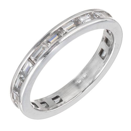 Peter Suchy 1.30 Carat Platinum Eternity Band Ring