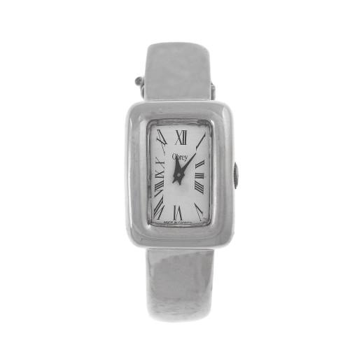Sterling Silver Ladies Obrey Bangle Watch