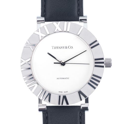 Tiffany & Co. Atlas Sterling Silver Quartz Watch