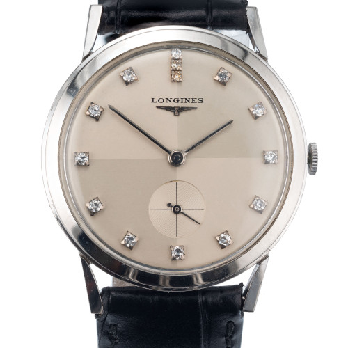 Longines Diamond White Gold Unisex Wristwach