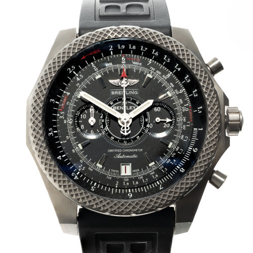 Breitling Titanium Automatic Bentley Wristwatch Chronograph