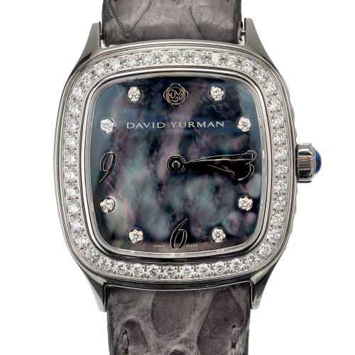 David Yurman Diamond Steel Ladies Thoroughbred Wristwatch