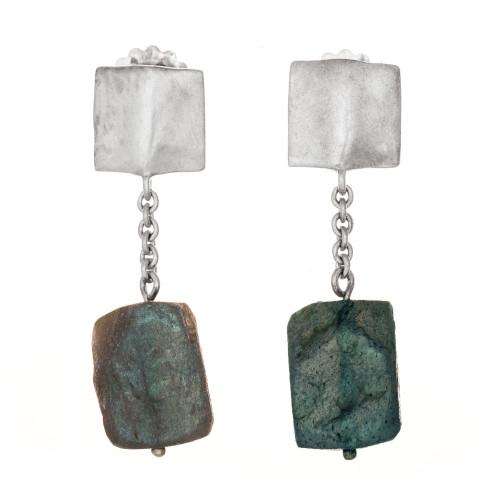 Robin Rotenier Labradorite Sterling Silver Dangle Earrings