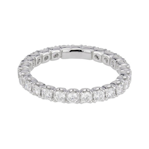 Peter Suchy 1.00 Carat Diamond Platinum Eternity Band Ring