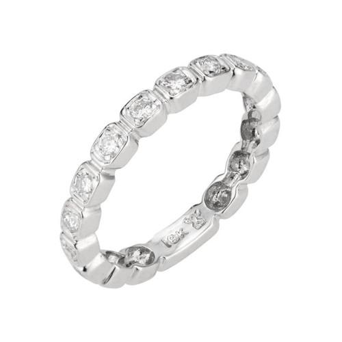 .32 Carat Diamond White Gold Wedding Band Ring