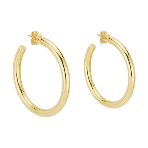 Tiffany & Co Yellow Gold Hoop Earrings