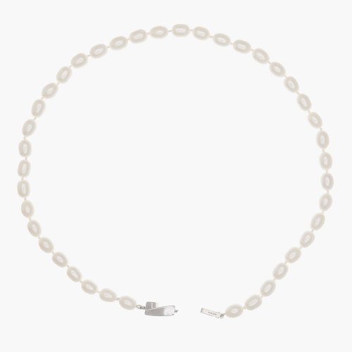Tiffany & Co Freshwater Pearl Sterling Silver Necklace
