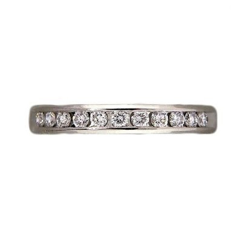 Vintage Wedding Band Ring Platinum .25ct Diamond Size 5 Lieberfarb