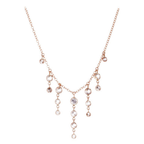 Peter Suchy 2.44 Carat Light Brown Diamond by the Yard Gold Necklace