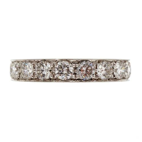 Peter Suchy 1.74 Carat Diamond Platinum Wedding Band RIng