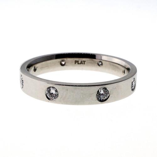 Peter Suchy .50 Carat Diamond Platinum Mens  Wedding Band Ring