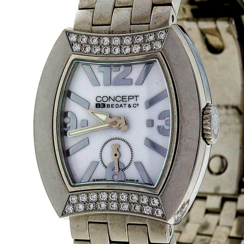 Bedat Steel Diamond Concept 3 Ladies Wrist Watch