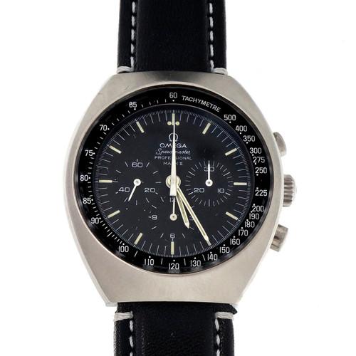 Vintage Omega Speedmaster Pro Mark II Steel Manual Wind 2750/67 Strap Watch