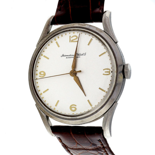 IWC International Watch Co. Caliber 89 Calatrava Strap Watch