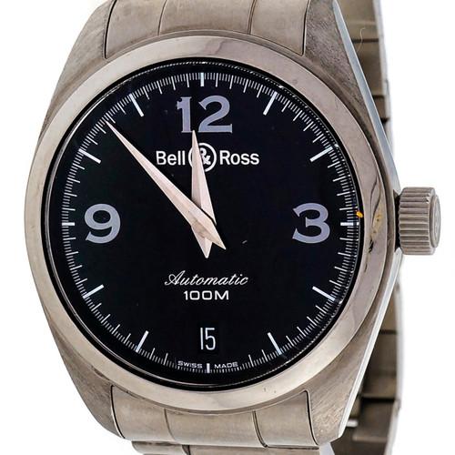 Bell & Ross Automatic Dante Steel Black Dial Wrist Watch