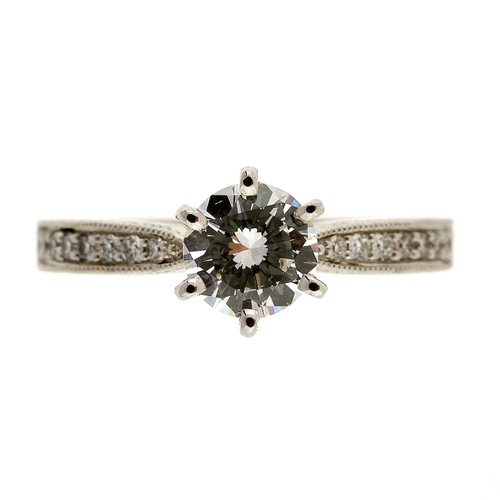 .46 Carat Diamond Platinum Engagement Ring