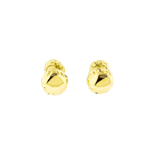 Estate Angela Cummings 1996 Heavy 18k Yellow Gold Double Sided Cufflinks