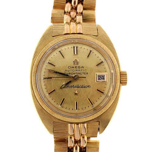 Omega Automatic 5 Position Constellation Ladies  Wristwatch