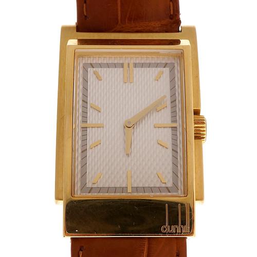 Dunhill Yellow Gold Men's Drivers Wristwatch
