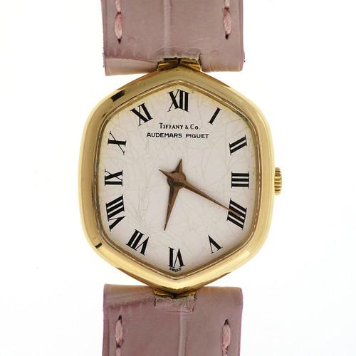 Audemars Piquet Tiffany Yellow Gold Ladies Wristwatch