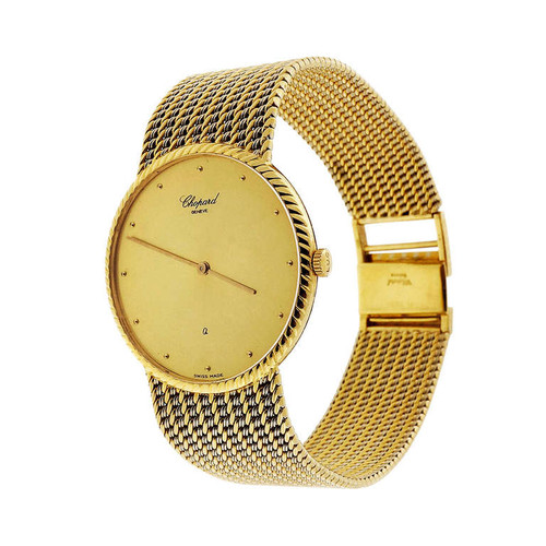 Chopard Yellow and White Gold Quartz Wristwatch