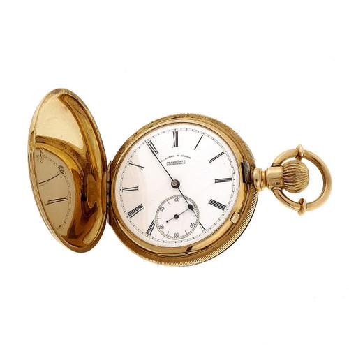 Rare A. Lange & Söhne Yellow Gold 1880 Pocket Watch