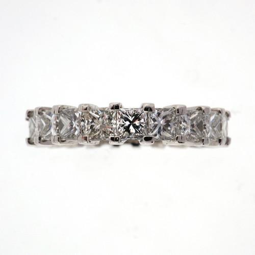 Peter Suchy 4.00 Carat Diamond Platinum Wedding Band Ring