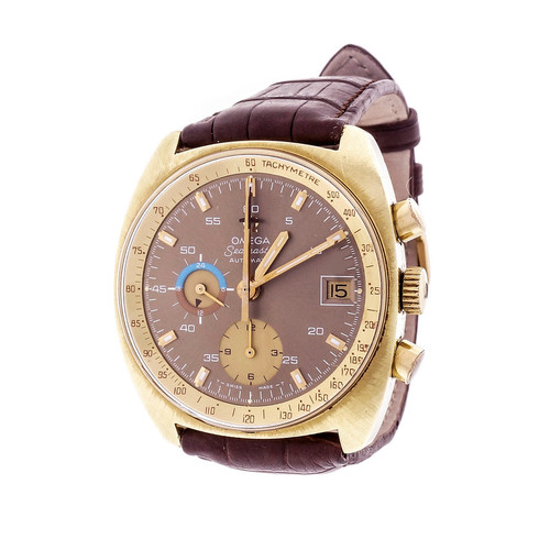 Omega Chronograph Seamaster Automatic 1960 Date Wrist Watch With Complications