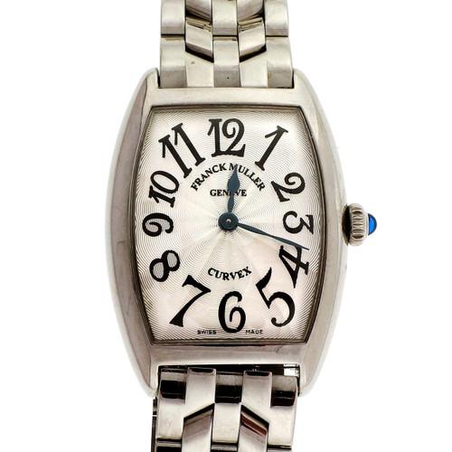 Franck Muller Curvex Ladies Stainless Steel Watch