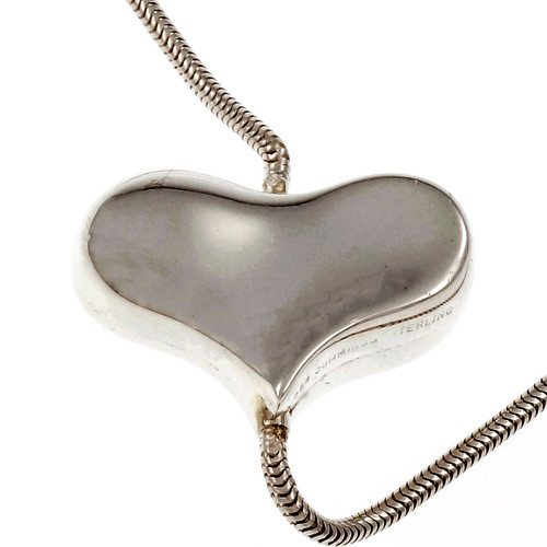 Angela Cummings Heart Necklace Sterling Silver