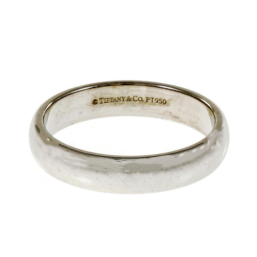 Tiffany & Co Lucida Wedding Band Ring Platinum