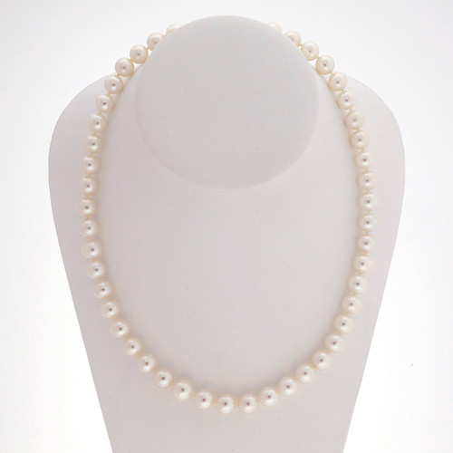 8.9 To 9.5mm Chinese Cultured Pearl 18 Inch Necklace 18 Inches