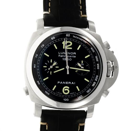 Panerai Rattrapante Automatic Chronograph Steel Wrist Watch