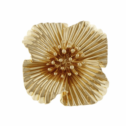 Vintage Tiffany & Co Fireworks Pin 14k Yellow Gold