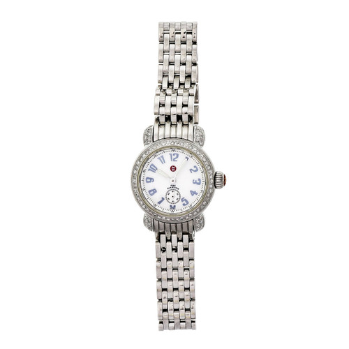 Michelle Steel Diamond CSX Ladies Wrist Watch