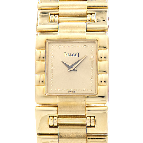 Piaget Ladies Yellow Gold Dancer Quartz Wristwatch