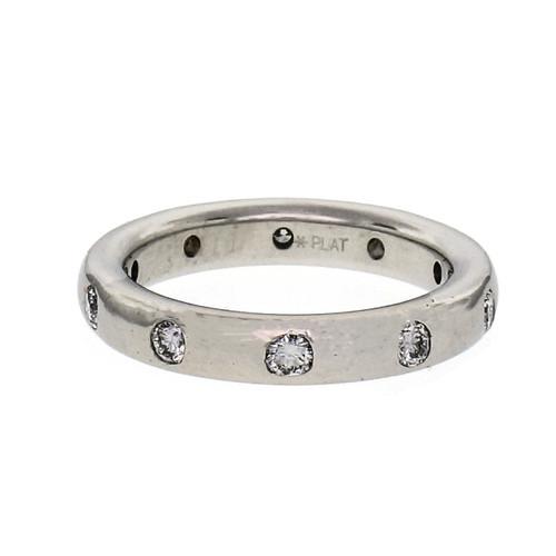 .30 Carat  Diamond Platinum Etoile Style Wedding Eternity Band Ring