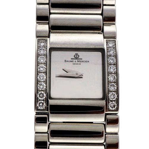 Ladies Baume Mercier Catwalk Diamond Stainless Steel Wrist Watch