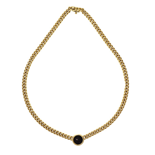 Bvlgari Yellow Gold Ancient Coin Necklace