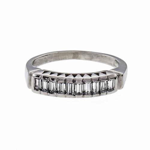 .25 Carat Diamond Platinum Wedding Band