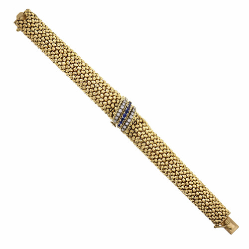 Tiffany & Co 1960's Movado Ladies 14k Gold Covered Watch