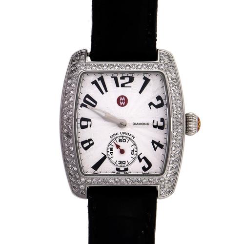 Ladies Michelle Diamond Watch Mini Urban 71-2701 Stainless Steel