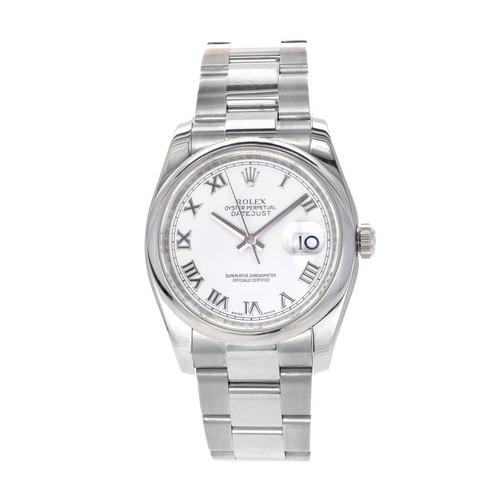 Rolex Stainless Steel Date Just Wristwatch Ref 116200