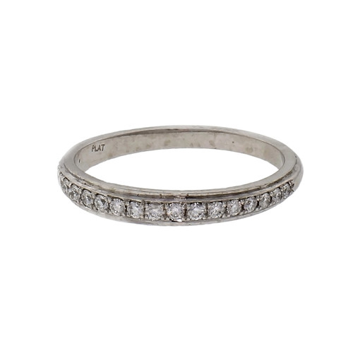 .16ct Diamond Platinum Wedding Band Ring