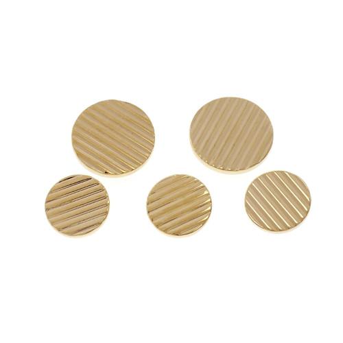 Tiffany & Co Blazer Button Set 14k Yellow Gold