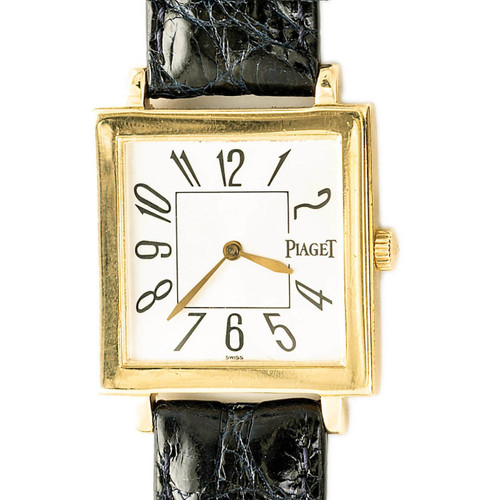 Piaget Altiplano 18K Yellow Gold Square Watch Ref. 50930