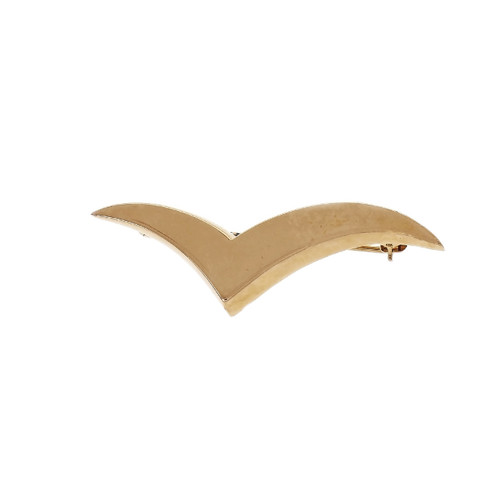 Tiffany & Co Seagull Brooch 18k Yellow Gold