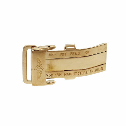 Breitling 18k Yellow Gold Deployant Buckle 16mm