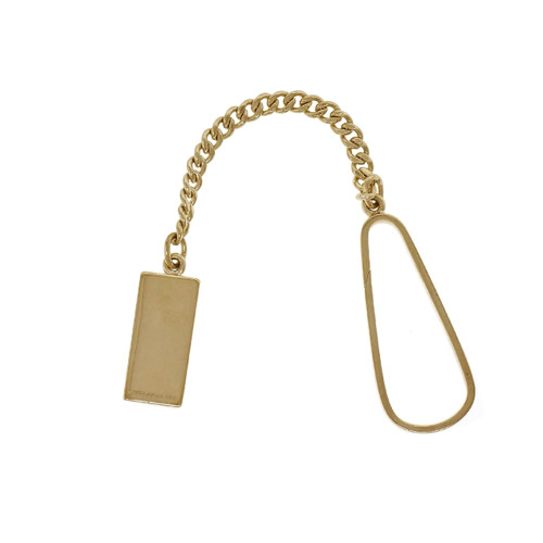 Tiffany & Co Key Ring & Chain 14k Yellow Gold