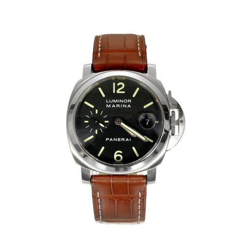 Panerai Men's Automatic Luminore Marina Pam Wristwatch Ref Pam00048